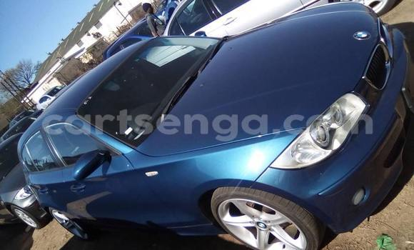 Buy Used BMW 1–Series Blue Car in Matsapha in Manzini