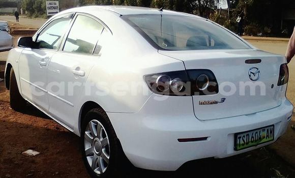 Buy Used Mazda Mazda 3 White Car in Matsapha in Manzini