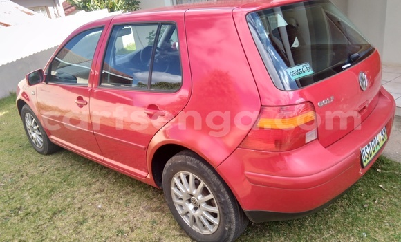 Buy Used Volkswagen Golf Red Car in Mbabane in Manzini