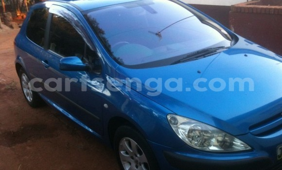 Buy Used Peugeot 307 Blue Car in Siteki in Swaziland