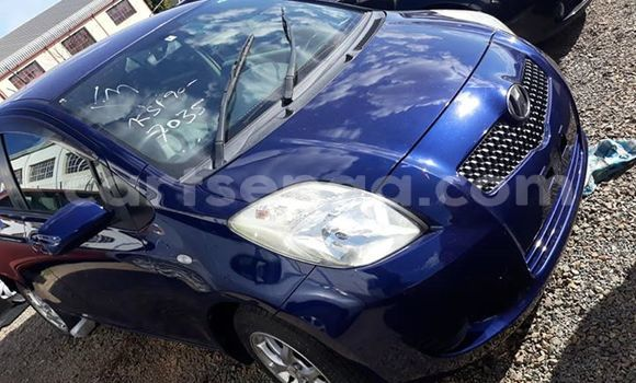 Buy Used Toyota Vitz Blue Car in Manzini in Manzini