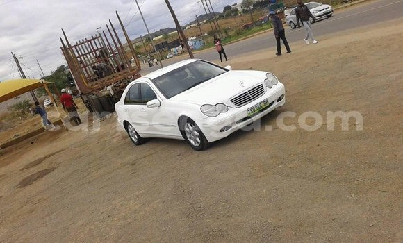 Buy Used Mercedes Benz C-Class White Car in Mbabane in Manzini