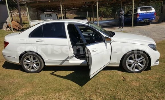 Buy Used Mercedes Benz C–Class White Car in Mbabane in Manzini