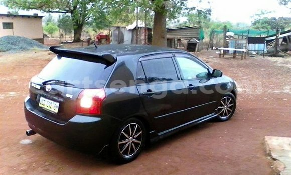 Buy Used Toyota Runx Black Car in Manzini in Swaziland