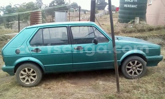 Buy Used Volkswagen Golf Green Car in Mbabane in Manzini