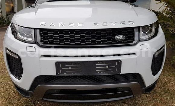 Buy Used Land Rover Range Rover Evoque White Car in Mbabane in Manzini