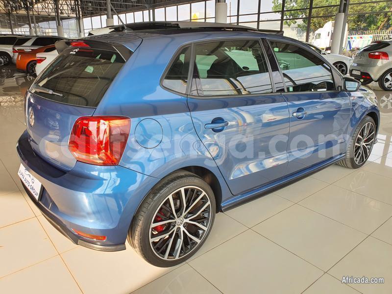 Buy Used Volkswagen Polo Gti Blue Car In Ezulwini In Hhohho Cartsenga