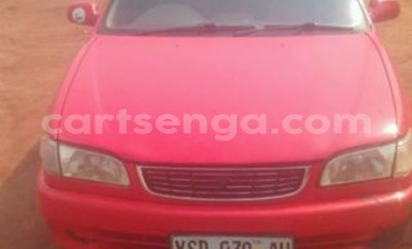 Buy Used Toyota Corolla Red Car in Nhlangano in Shiselweni District