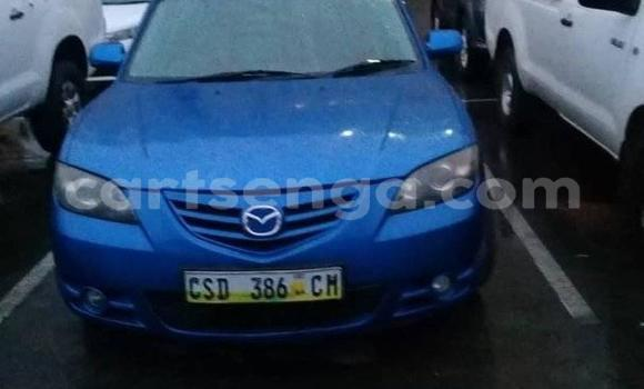Buy Used Mazda Mazda 3 Blue Car in Matsapha in Manzini