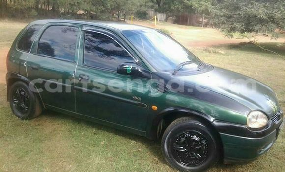 Buy Used Opel Corsa Green Car in Mbabane in Manzini