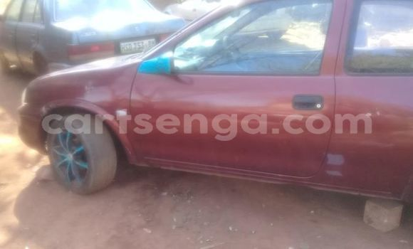 Buy Used Opel Corsa Red Car in Mbabane in Manzini