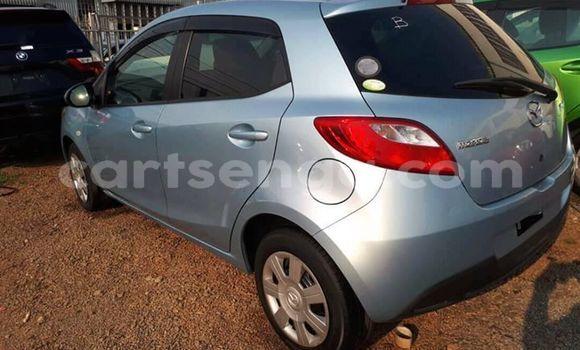 Buy Used Mazda Demio Blue Car in Matsapha in Manzini