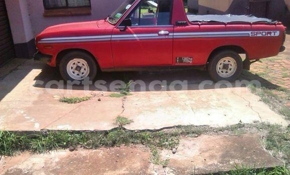 Buy Used Nissan Pickup Red Car in Manzini in Swaziland