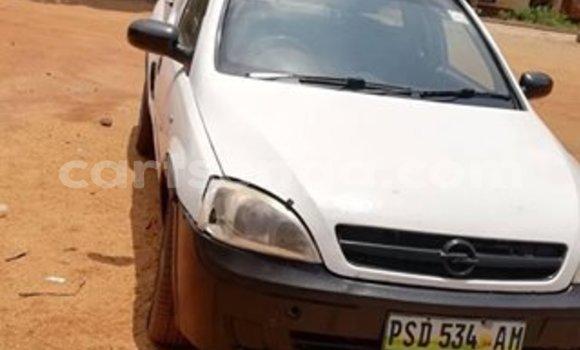 Buy Import Opel Corsa White Car in Matsapha in Manzini
