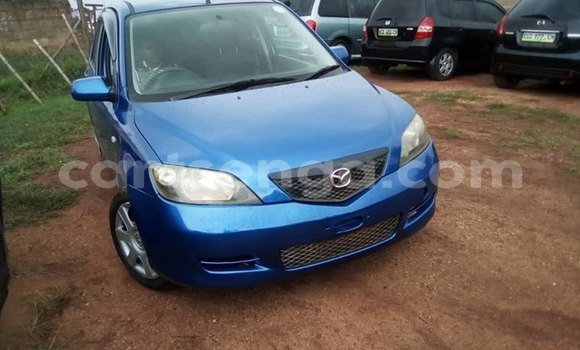 Buy Used Mazda Demio Blue Car in Manzini in Manzini