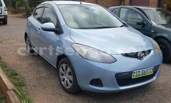 Buy Used Mazda Mazda 2 Blue Car in Manzini in Manzini