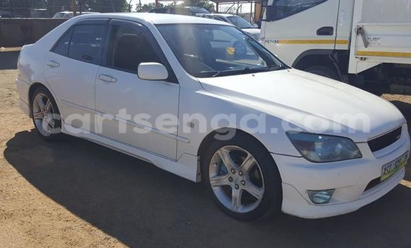 Buy Used Toyota Altezza White Car in Manzini in Manzini