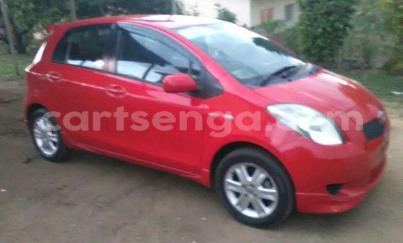 Buy Used Toyota Yaris Red Car in Manzini in Swaziland