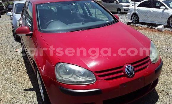 Buy Used Volkswagen Golf Red Car in Matsapha in Manzini
