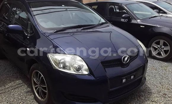 Buy Used Toyota Auris Black Car in Matsapha in Manzini
