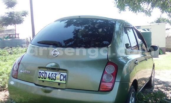 Buy Used Nissan March Green Car in Mbabane in Manzini