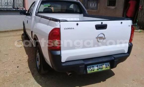Buy Used Opel Corsa White Car in Mbabane in Manzini