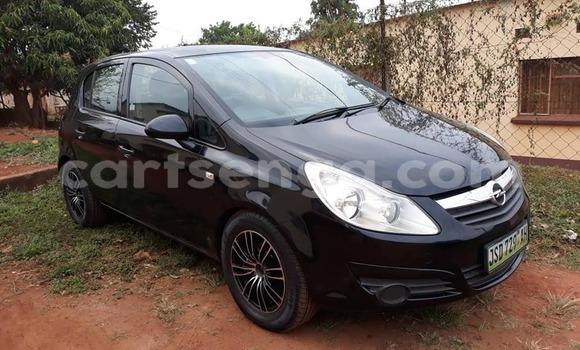 Buy Used Opel Corsa Black Car in Mbabane in Manzini