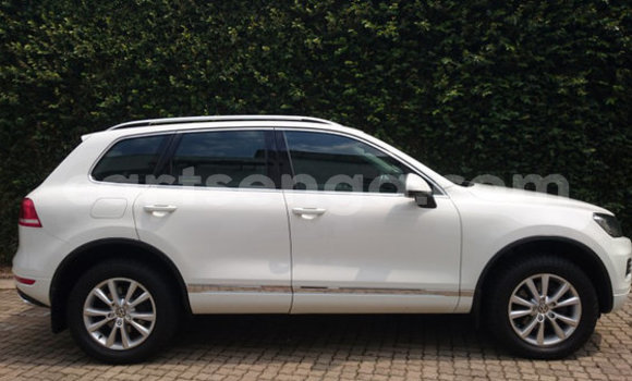 Buy Used Volkswagen Touareg White Car in Mbabane in Manzini