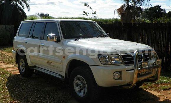 Buy Used Nissan Patrol White Car in Manzini in Swaziland