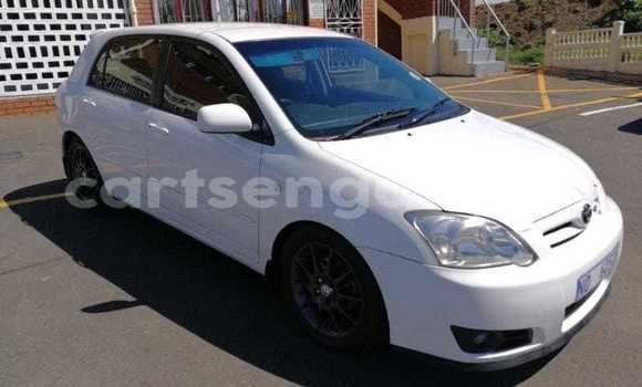 Buy Used Toyota Runx White Car in Hluti in Shiselweni District