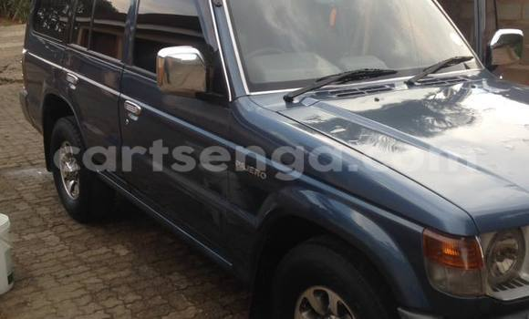 Buy Used Mitsubishi Pajero Blue Car in Manzini in Swaziland