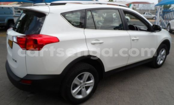 Buy Used Toyota RAV4 White Car in Kubuta in Shiselweni District
