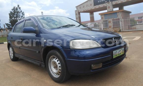 Buy Used Opel Astra Blue Car in Manzini in Swaziland