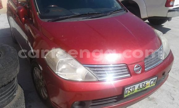 Buy Used Nissan Tiida Red Car in Mbabane in Manzini