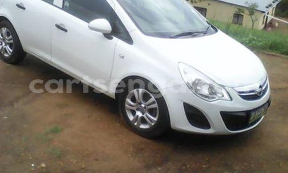 Buy Used Opel Corsa White Car in Manzini in Swaziland