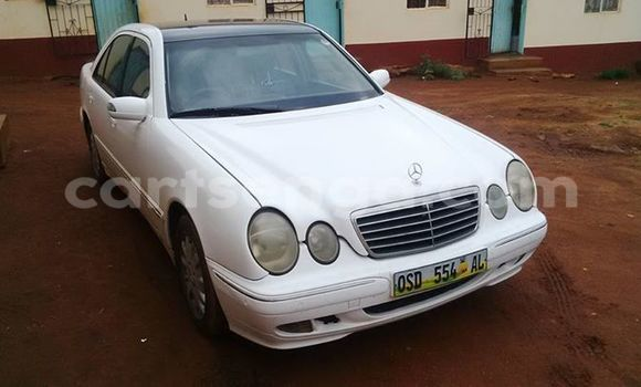 Buy Used Mercedes‒Benz E-Class White Car in Manzini in Swaziland