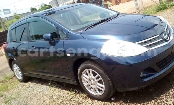 Buy Used Nissan Tiida Blue Car in Matsapha in Manzini