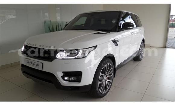 Buy Used Land Rover Range Rover Sport White Car in Bhunya in Manzini