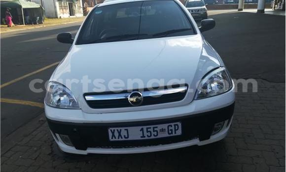 Buy Used Opel Corsa White Car in Big Bend in Lubombo