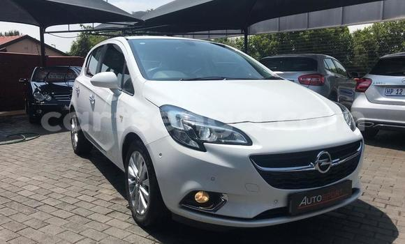 Buy Used Opel Corsa White Car in Mbabane in Manzini