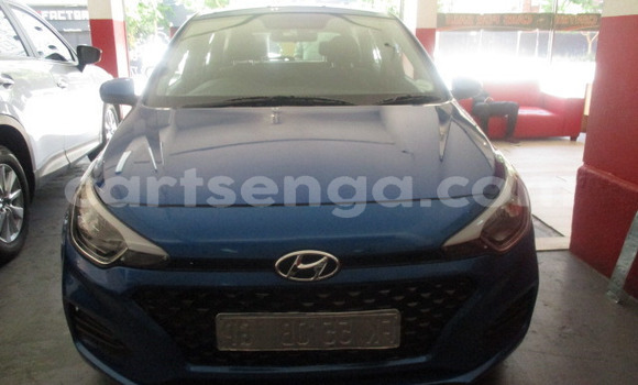 Buy Used Hyundai i20 Blue Car in Big Bend in Lubombo District