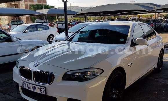 Buy Used BMW 5–Series White Car in Bhunya in Manzini