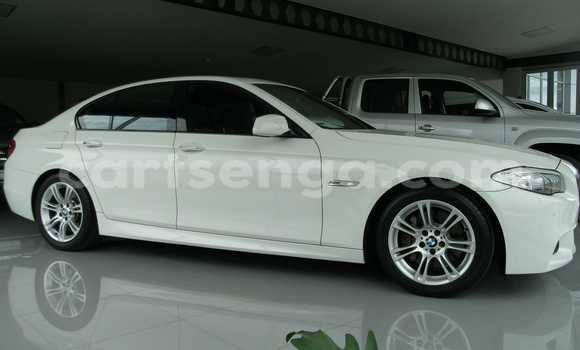 Buy Used BMW 5-Series White Car in Mbabane in Swaziland
