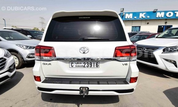 Buy Import Toyota Land Cruiser White Car in Import - Dubai in Hhohho