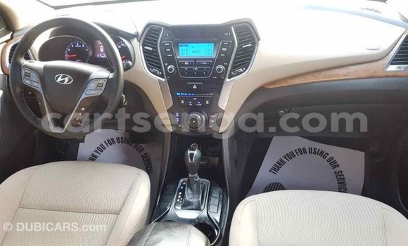 Buy Import Hyundai Santa Fe Red Car in Import - Dubai in Hhohho