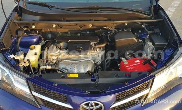 Buy Import Toyota RAV4 Blue Car in Import - Dubai in Hhohho