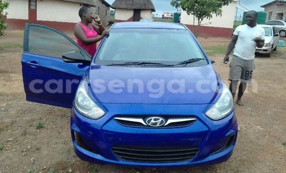 Buy Used Hyundai Accent Blue Car in Manzini in Swaziland