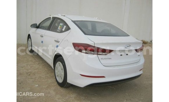 Buy Import Hyundai Elantra White Car in Import - Dubai in Hhohho