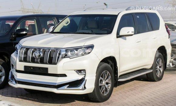 Buy Import Toyota Prado White Car in Import - Dubai in Hhohho