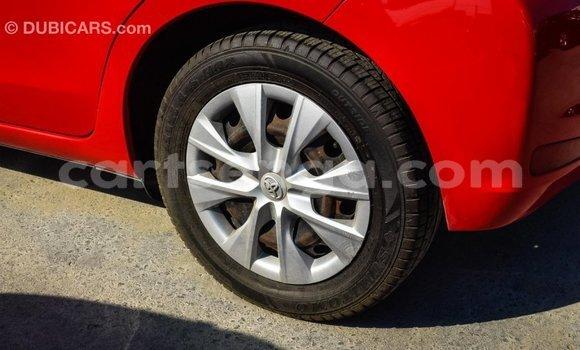 Buy Import Toyota Yaris Red Car in Import - Dubai in Hhohho